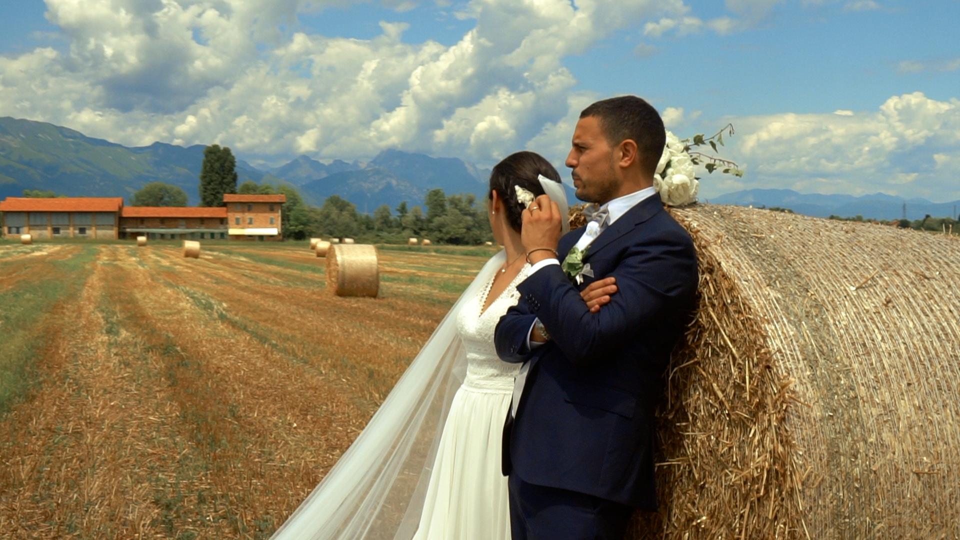 Il matrimonio di Enrico e Sara a Porcia, Pordenone