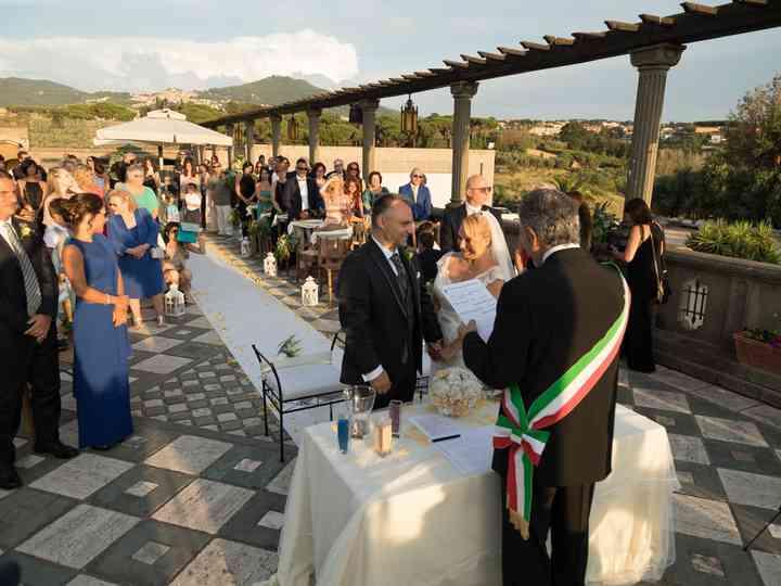 le nozze di Maria Cristina e Socrate