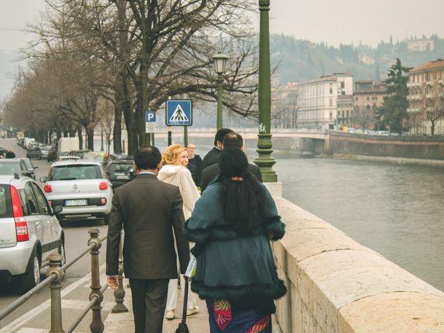 Il matrimonio di Naren e Stefania a Verona, Verona 6