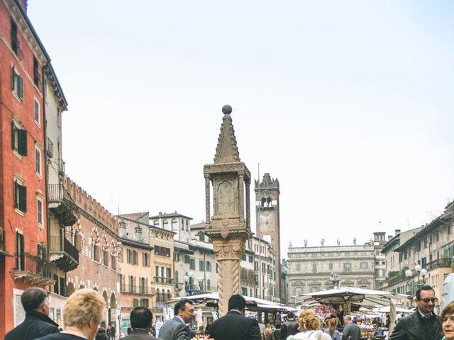 Il matrimonio di Naren e Stefania a Verona, Verona 9