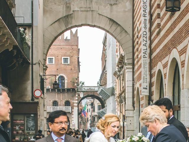 Il matrimonio di Naren e Stefania a Verona, Verona 10