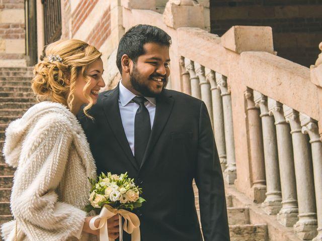 Il matrimonio di Naren e Stefania a Verona, Verona 1
