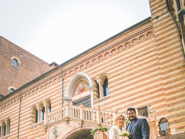 Il matrimonio di Naren e Stefania a Verona, Verona 12
