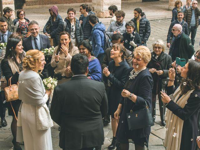 Il matrimonio di Naren e Stefania a Verona, Verona 33