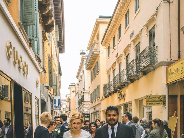 Il matrimonio di Naren e Stefania a Verona, Verona 34