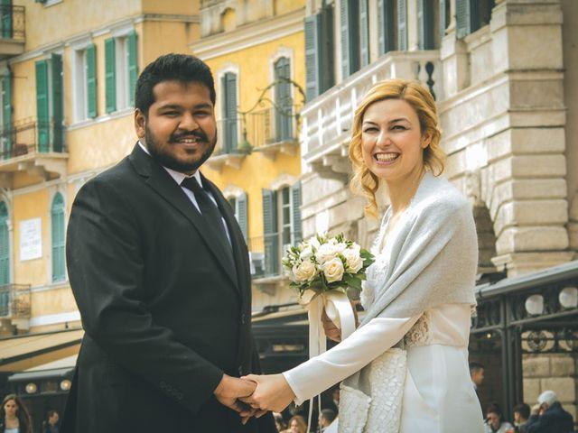 le nozze di Stefania e Naren