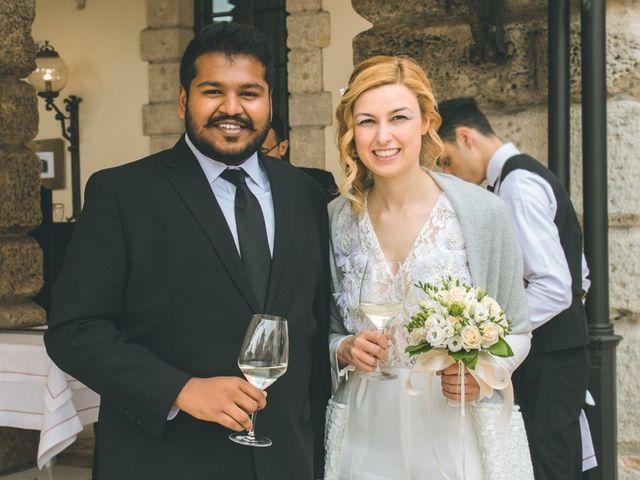 Il matrimonio di Naren e Stefania a Verona, Verona 37