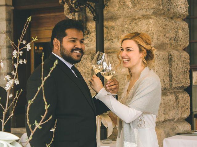 Il matrimonio di Naren e Stefania a Verona, Verona 40