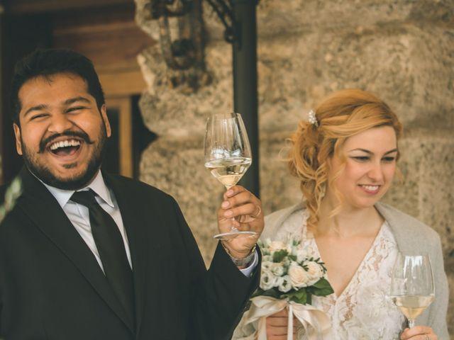 Il matrimonio di Naren e Stefania a Verona, Verona 42