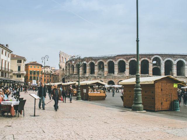 Il matrimonio di Naren e Stefania a Verona, Verona 45