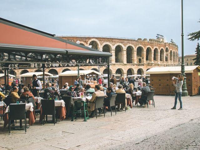Il matrimonio di Naren e Stefania a Verona, Verona 47