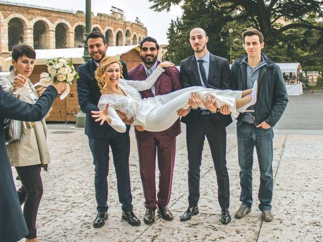 Il matrimonio di Naren e Stefania a Verona, Verona 48