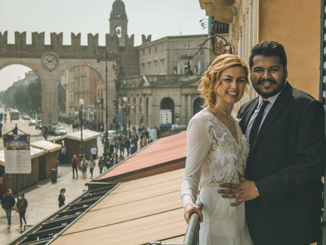 Il matrimonio di Naren e Stefania a Verona, Verona 2