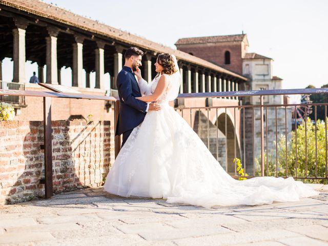 Il matrimonio di Pietro e Lucia a Torrazza Coste, Pavia 32