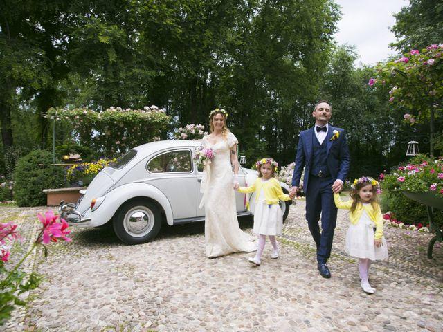 Il matrimonio di Daris e Francesca a Montichiari, Brescia 16