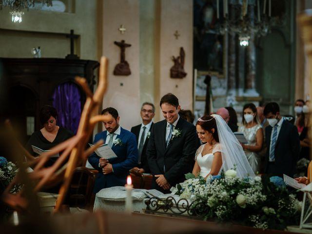 Il matrimonio di Daniele e Barbara a Piovera, Alessandria 48