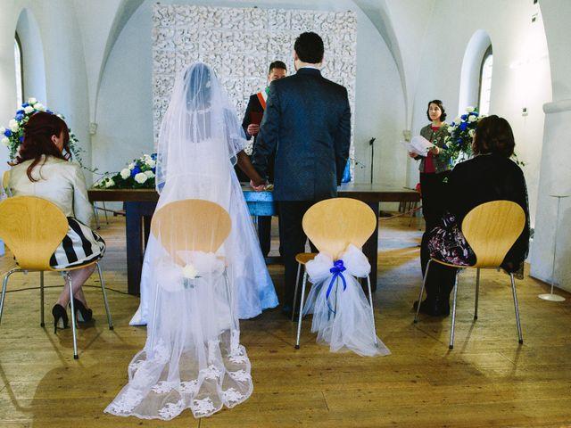 Il matrimonio di Mattia e Bibi a Marostica, Vicenza 11