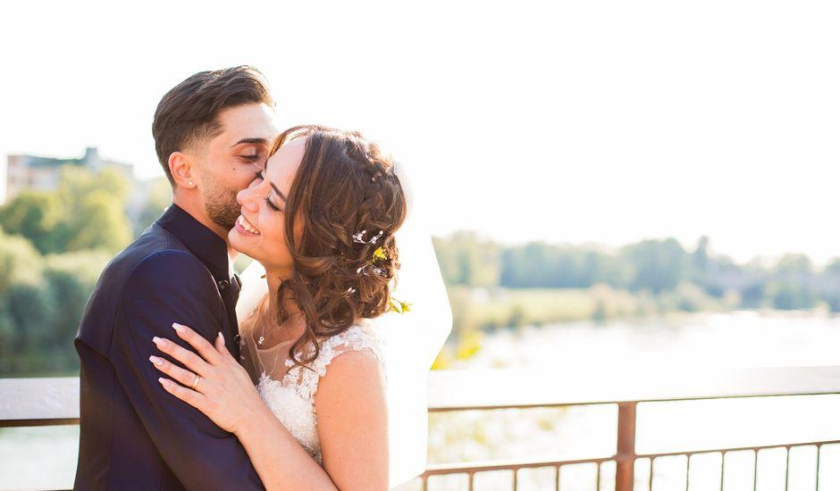 Il matrimonio di Pietro e Lucia a Torrazza Coste, Pavia