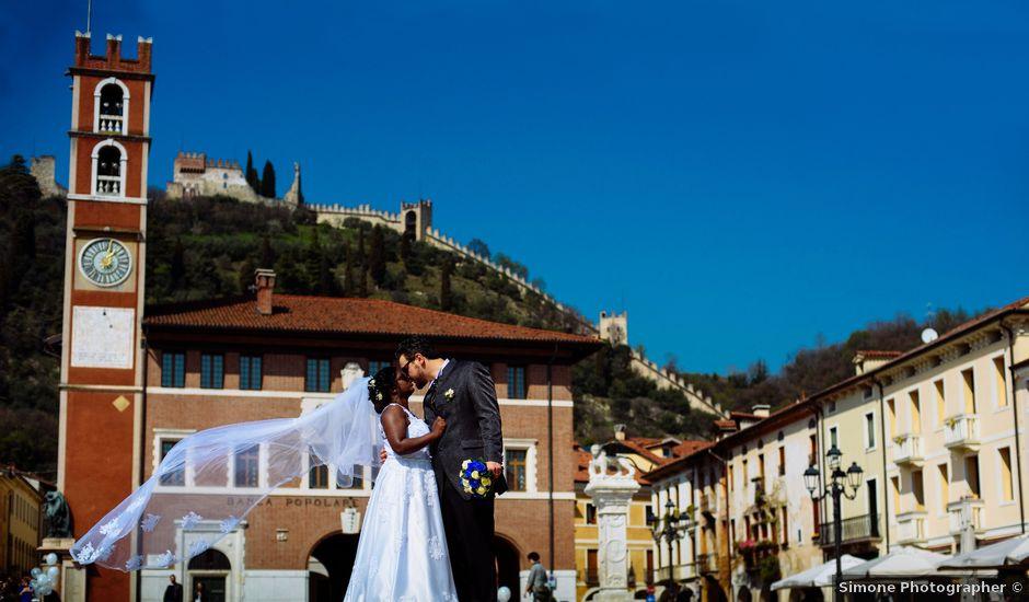 Il matrimonio di Mattia e Bibi a Marostica, Vicenza