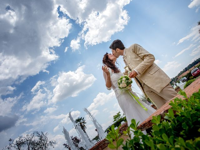 Le nozze di Oriella e Denis