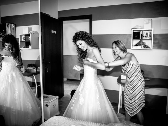 Il matrimonio di claudio e gaia a Brandico, Brescia 1