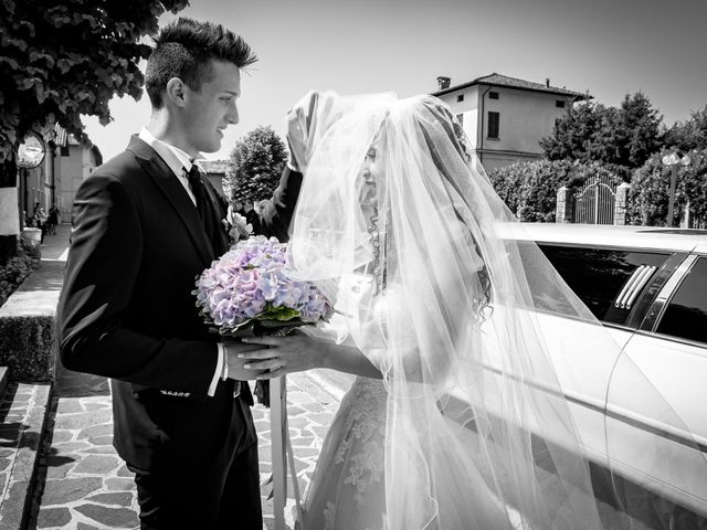 Il matrimonio di claudio e gaia a Brandico, Brescia 24