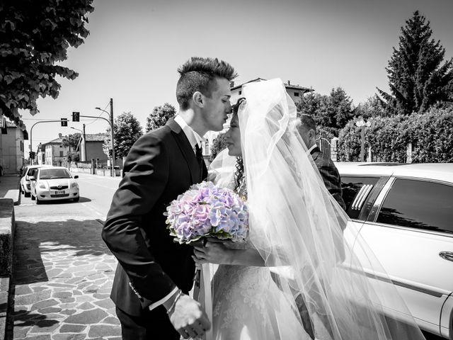 Il matrimonio di claudio e gaia a Brandico, Brescia 25