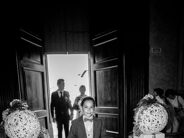 Il matrimonio di claudio e gaia a Brandico, Brescia 26