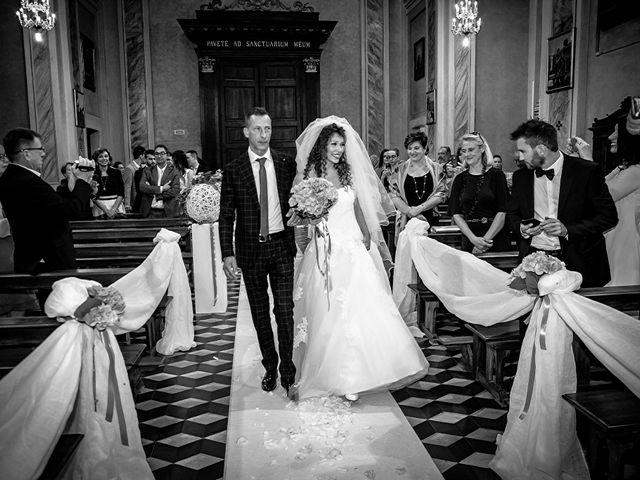 Il matrimonio di claudio e gaia a Brandico, Brescia 27