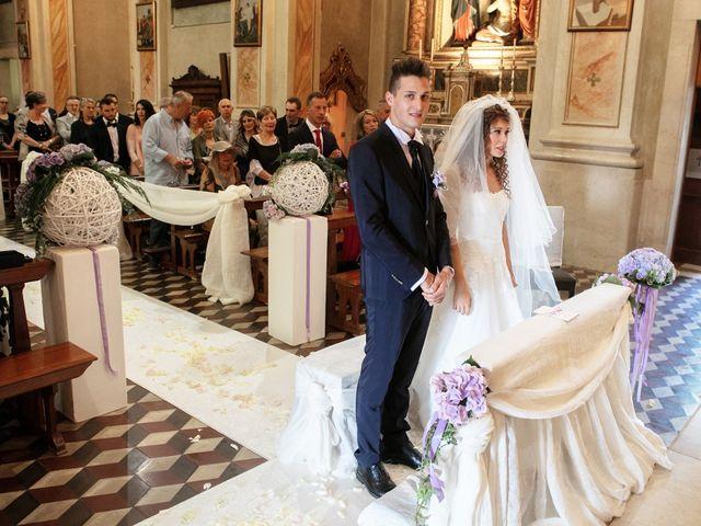 Il matrimonio di claudio e gaia a Brandico, Brescia 29