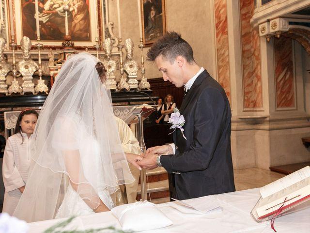 Il matrimonio di claudio e gaia a Brandico, Brescia 33