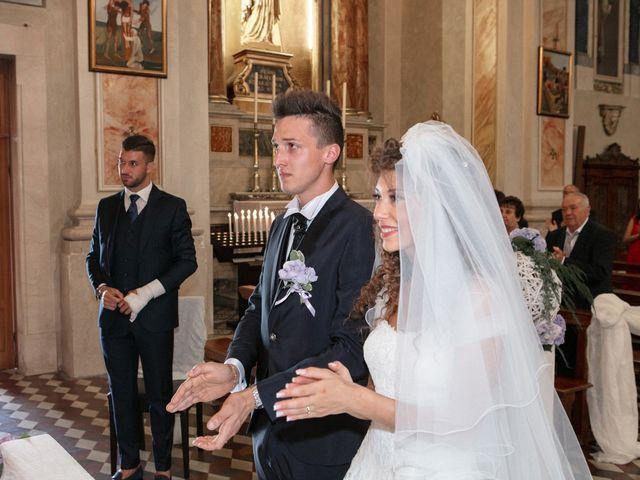 Il matrimonio di claudio e gaia a Brandico, Brescia 37