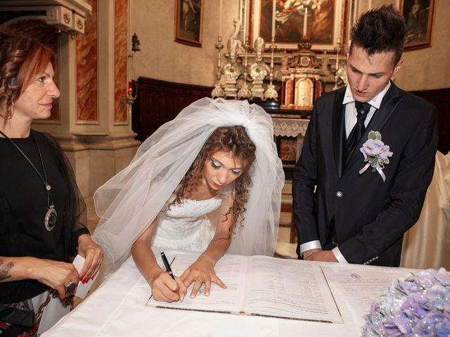 Il matrimonio di claudio e gaia a Brandico, Brescia 38