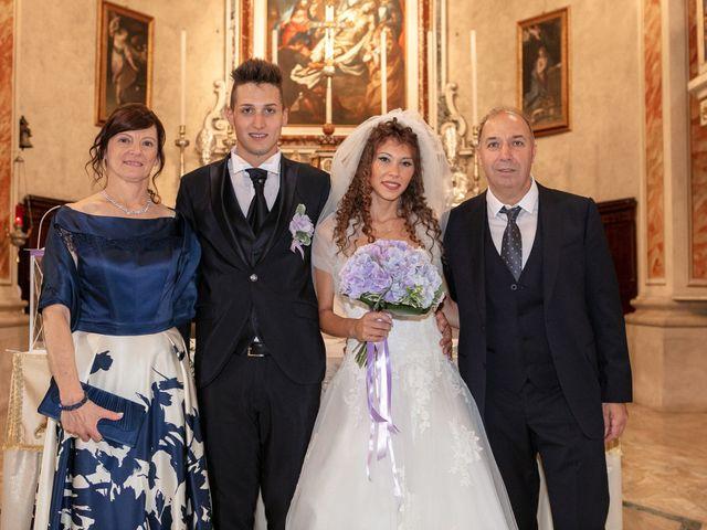 Il matrimonio di claudio e gaia a Brandico, Brescia 43