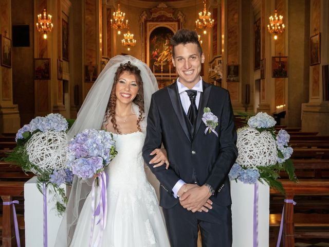 Il matrimonio di claudio e gaia a Brandico, Brescia 48