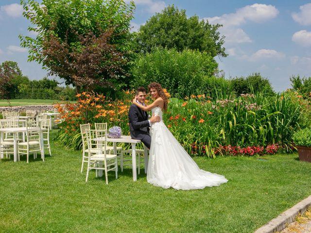 Il matrimonio di claudio e gaia a Brandico, Brescia 57