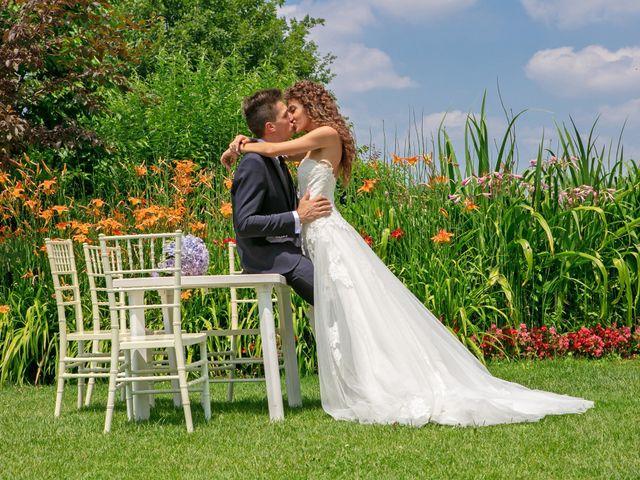 Il matrimonio di claudio e gaia a Brandico, Brescia 59
