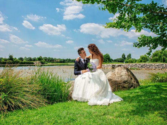 Il matrimonio di claudio e gaia a Brandico, Brescia 60