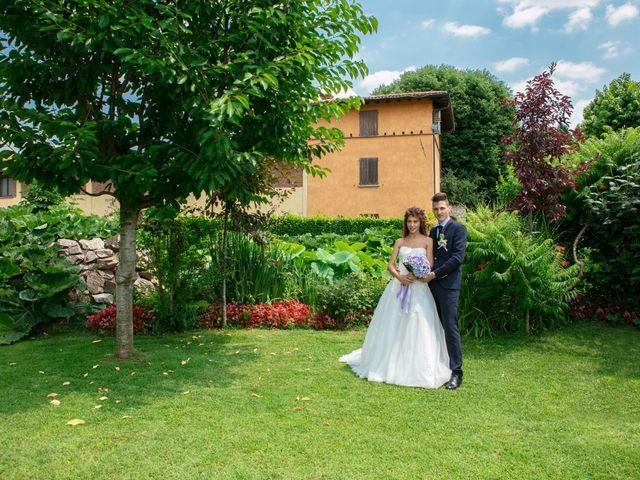 Il matrimonio di claudio e gaia a Brandico, Brescia 63
