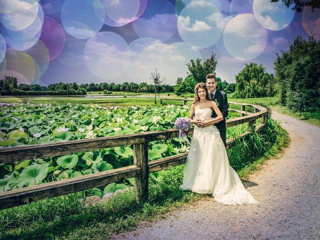 Il matrimonio di claudio e gaia a Brandico, Brescia 71