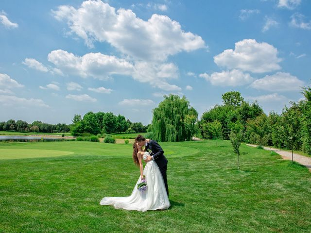 Il matrimonio di claudio e gaia a Brandico, Brescia 73