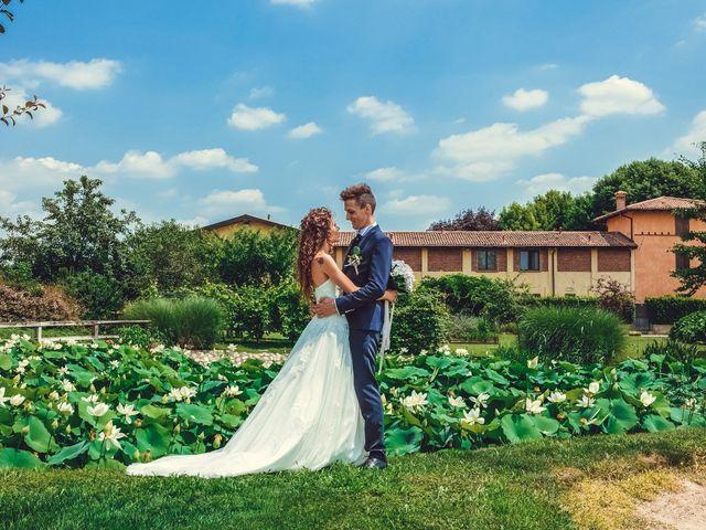 Il matrimonio di claudio e gaia a Brandico, Brescia 74