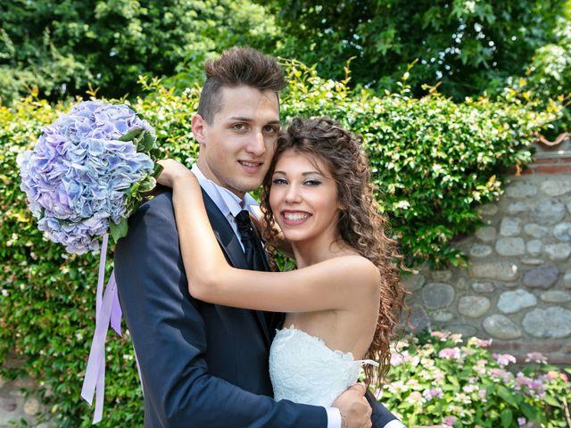 Il matrimonio di claudio e gaia a Brandico, Brescia 78
