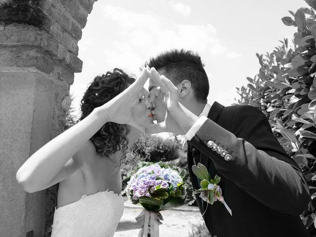 Il matrimonio di claudio e gaia a Brandico, Brescia 79