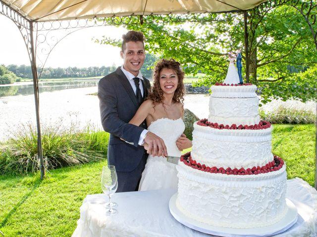 Il matrimonio di claudio e gaia a Brandico, Brescia 82