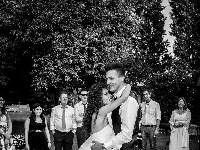 Il matrimonio di claudio e gaia a Brandico, Brescia 86