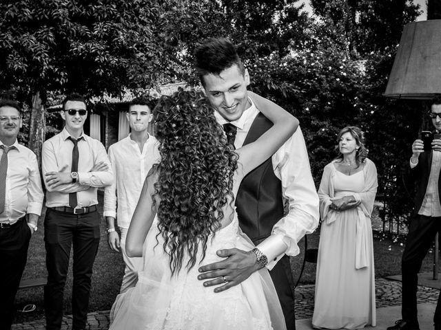 Il matrimonio di claudio e gaia a Brandico, Brescia 87