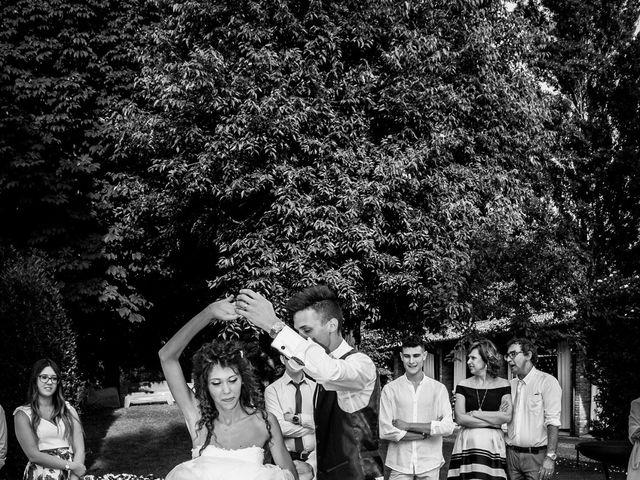 Il matrimonio di claudio e gaia a Brandico, Brescia 88