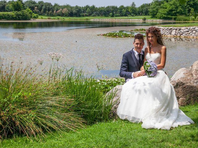 Il matrimonio di claudio e gaia a Brandico, Brescia 113