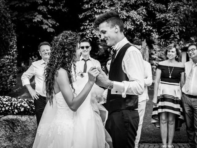 Il matrimonio di claudio e gaia a Brandico, Brescia 125